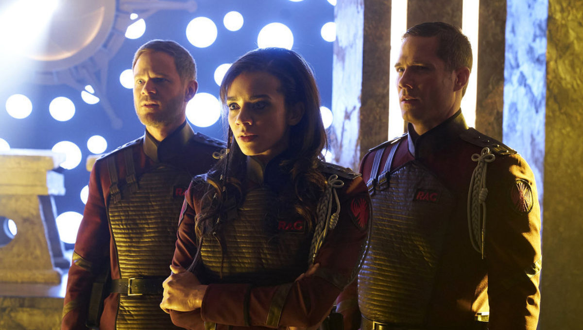 Killjoys 3 6 Recap  Johnny s past comes back and Aneela s not happy. Chosen One of the Day  The Three Seashells from Demolition Man