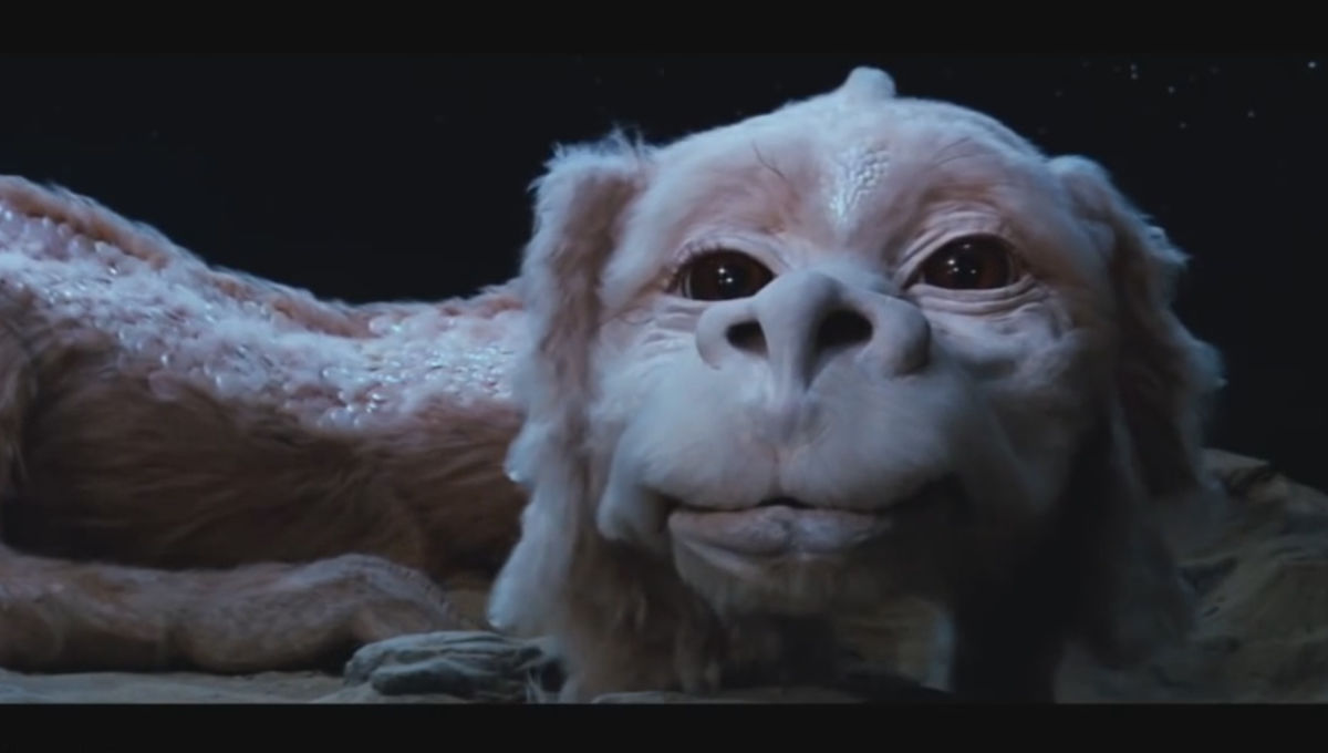 Chosen One Of The Day Falkor From The Neverending Story