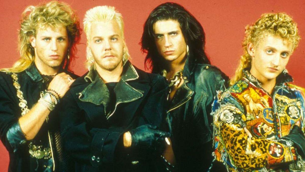 SYFY The Lost Boys '80s Vampire Mullets