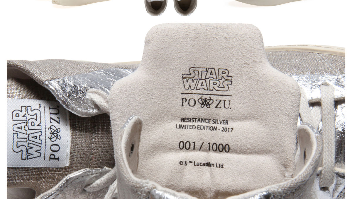 5ac1a58d0 Star Wars Resistance sneakers from Po-Zu are coming to a galaxy near ...
