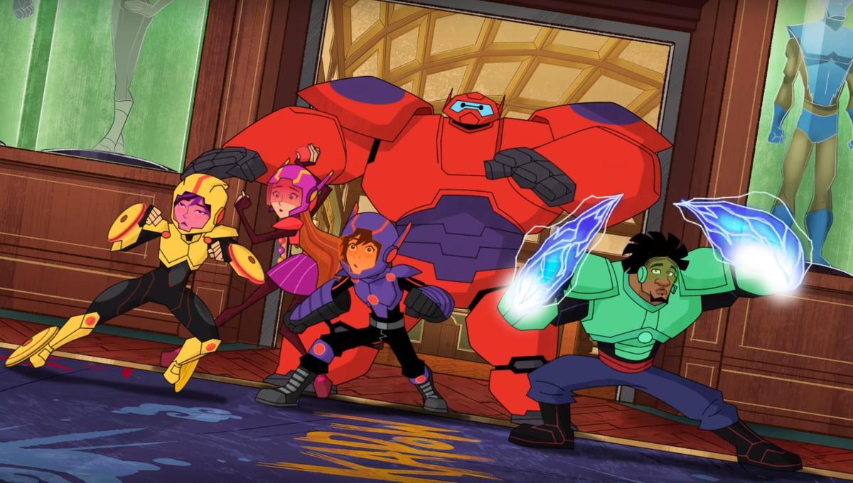 Big Hero 6: The Animated Series   SYFY WIRE