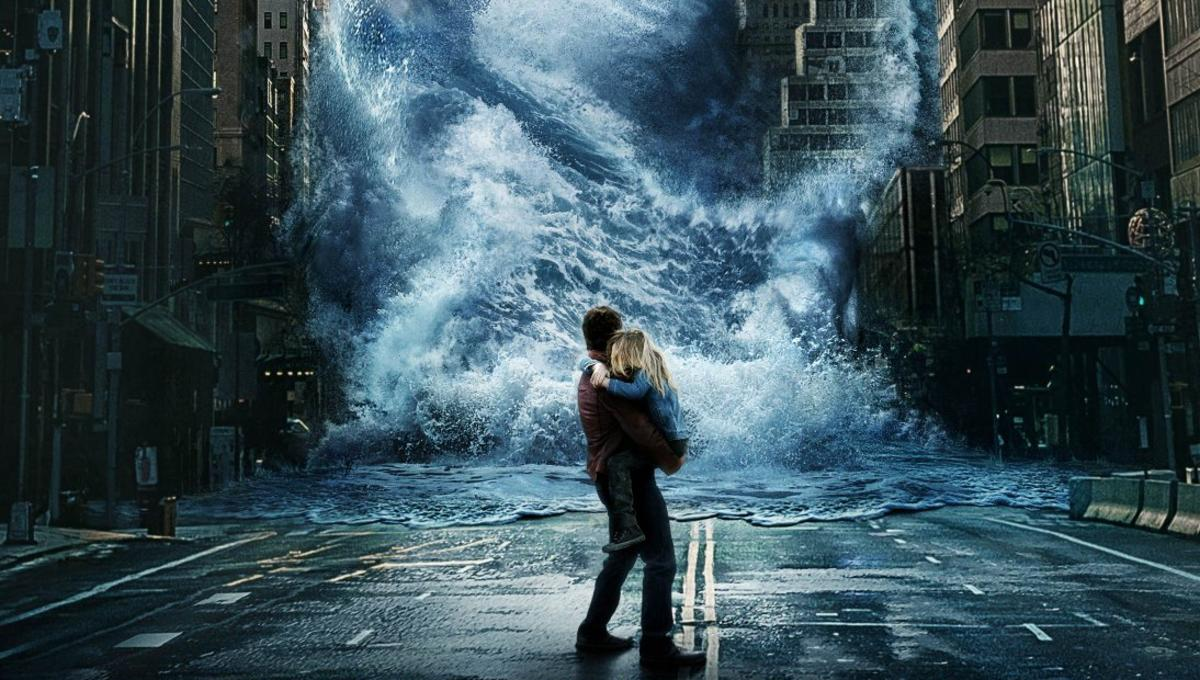 SYFY - Geostorm: Brave the storm in latest trailer for sci