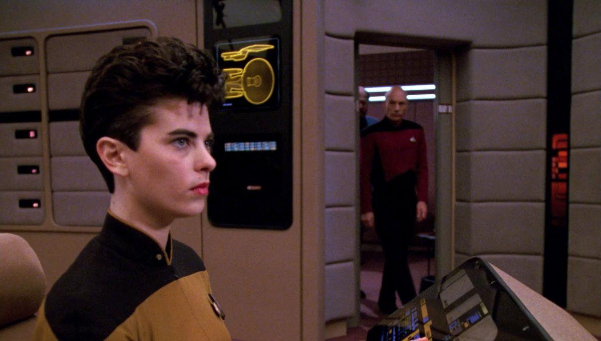 Star Trek: The Next Generation's Lt  Jae interview