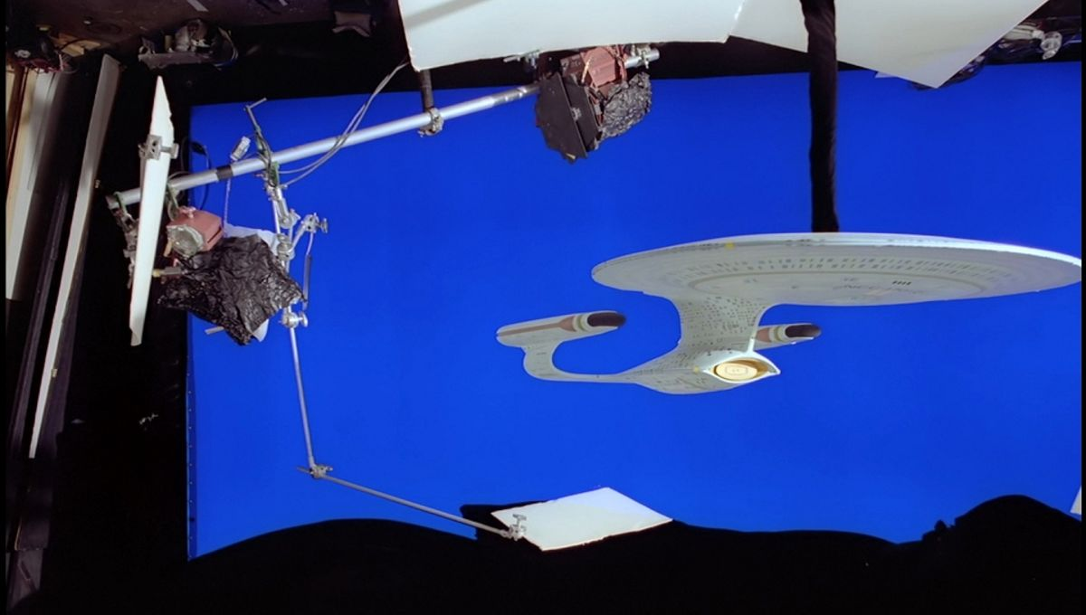 Before CGI, Star Trek used shampoo bottles and ping pong balls for special effects