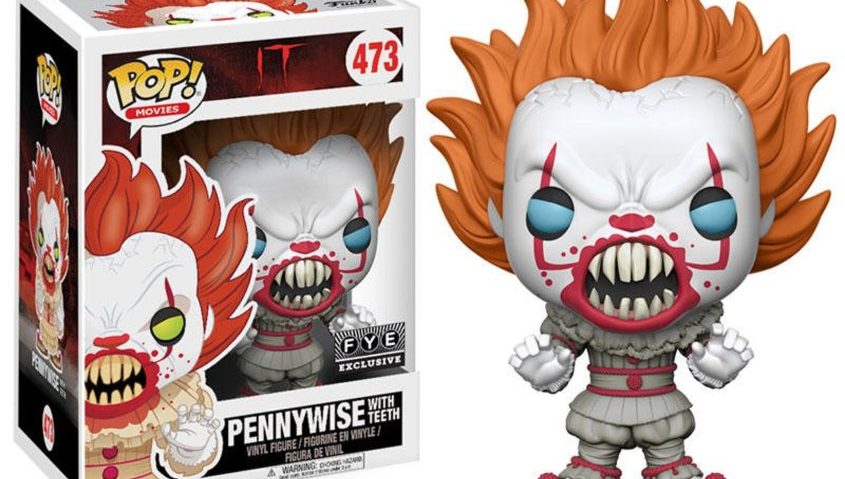 It Movie New Pennywise Pop Figure Is Even Scarier Than