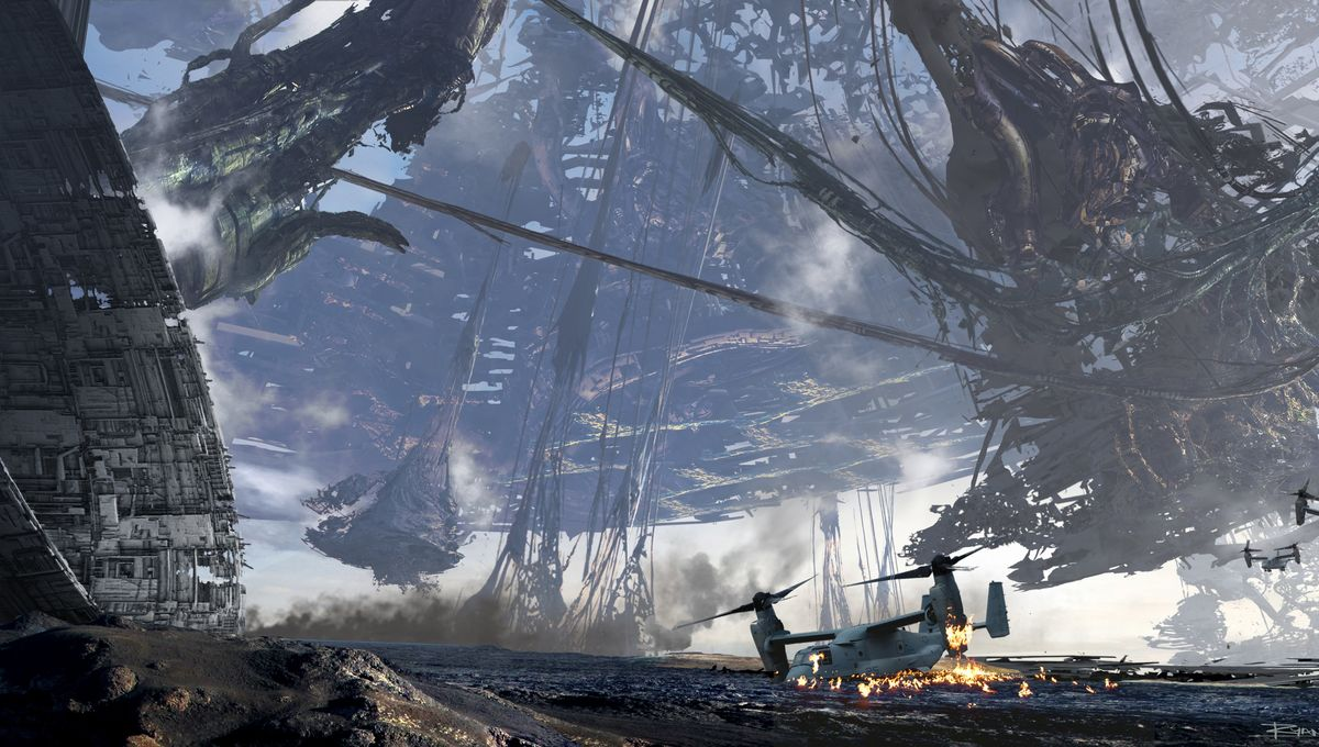 Transformers the Last Knight concept art