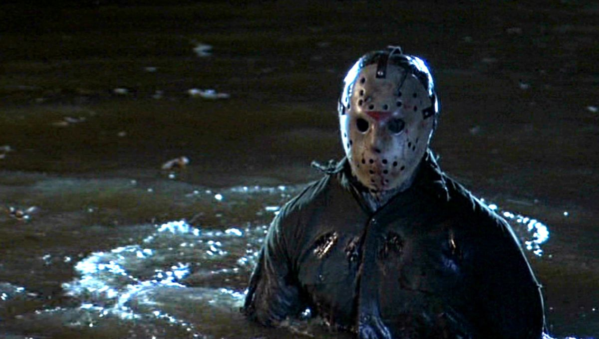 Someone put a life-sized Jason Voorhees statue at the bottom of a lake in Minnesota just to mess with people