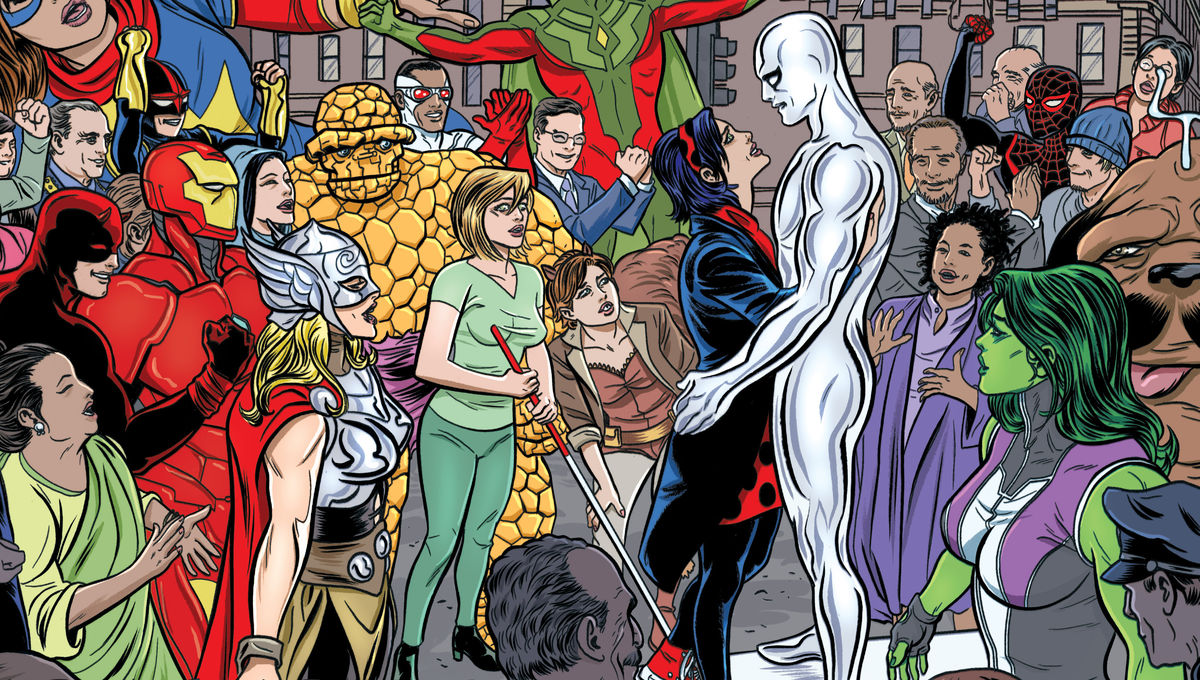 The Silver Surfer just told one of the best love stories in comics