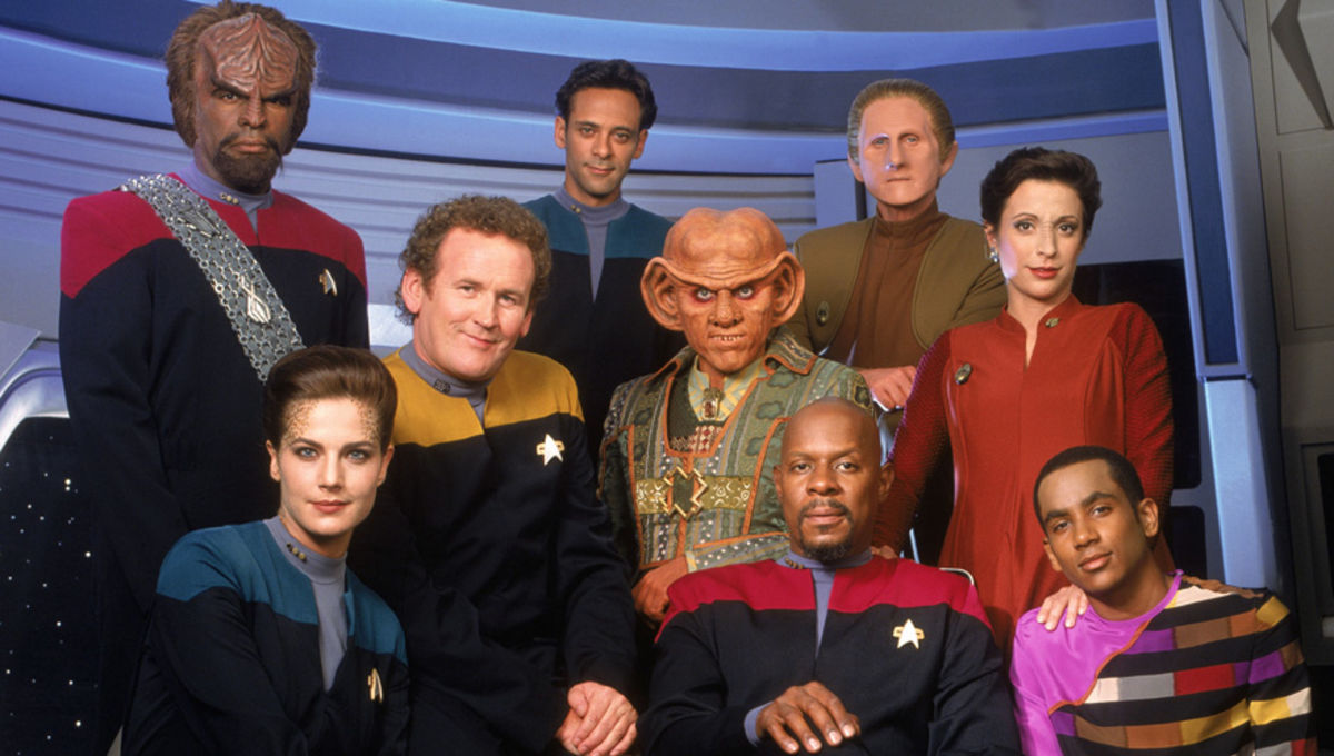 Image result for Star Trek: Deep Space Nine tv show