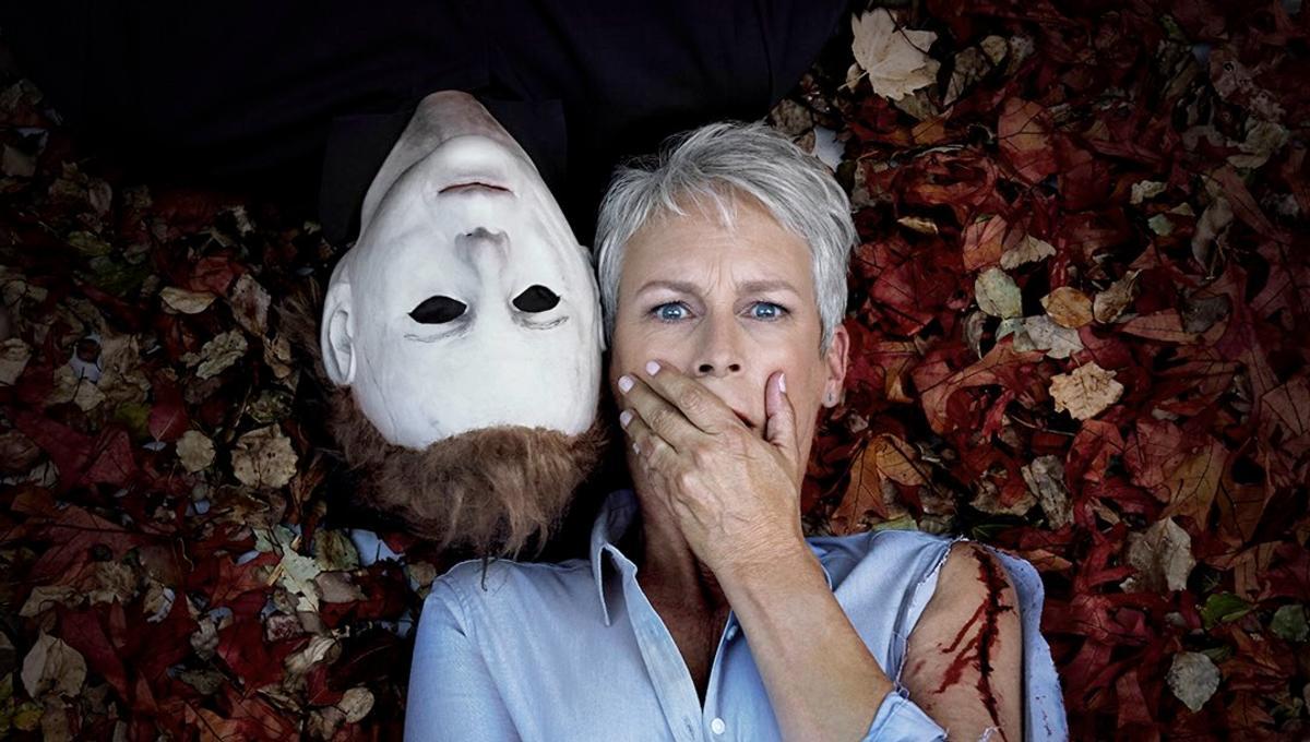 Jamie Lee Curtis completes shooting on Halloween, celebrates via ...