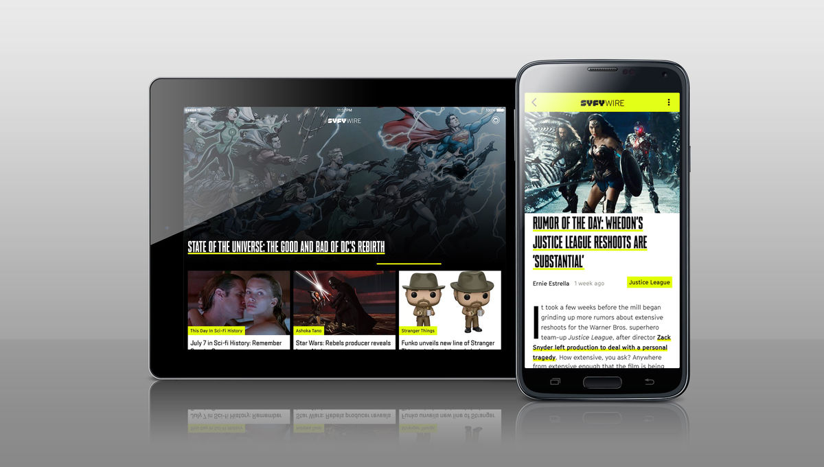It's here! Get the SYFY WIRE app for iOS and Android SYFY