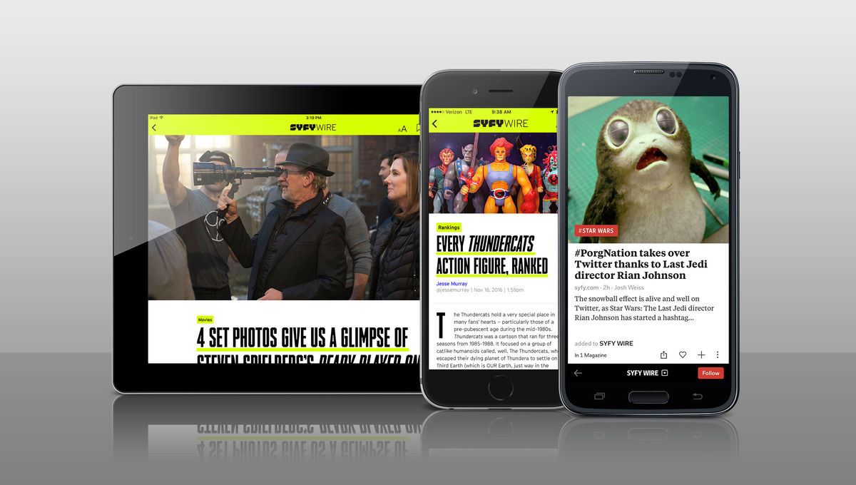 Get your SYFY WIRE fix on Apple News and Flipboard