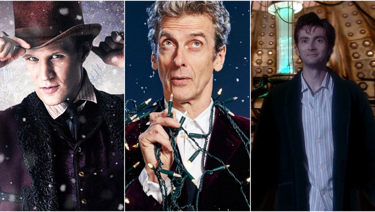 Doctor Who Christmas Specials.All The Current Doctor Who Christmas Specials Ranked