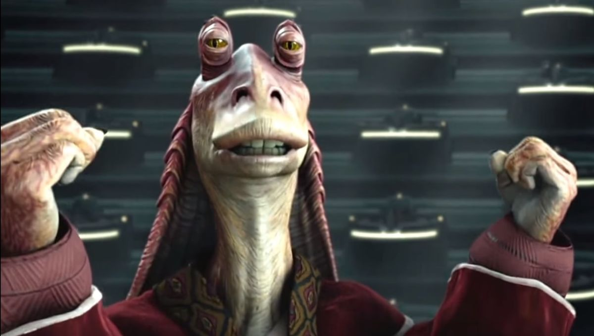 Star Wars Jar Jar Binks Actor Ahmed Best Wanted A Darker Ending For Character In Revenge Of The Sith