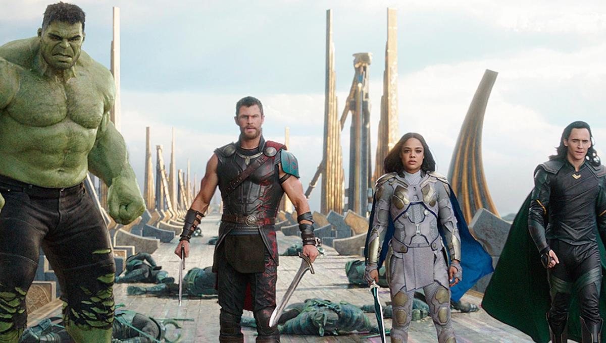 Image result for thor ragnarok team