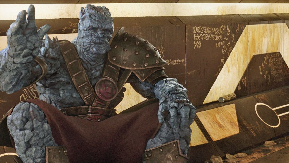 Thor: Ragnarok's Korg finally rewarded with his very own poster