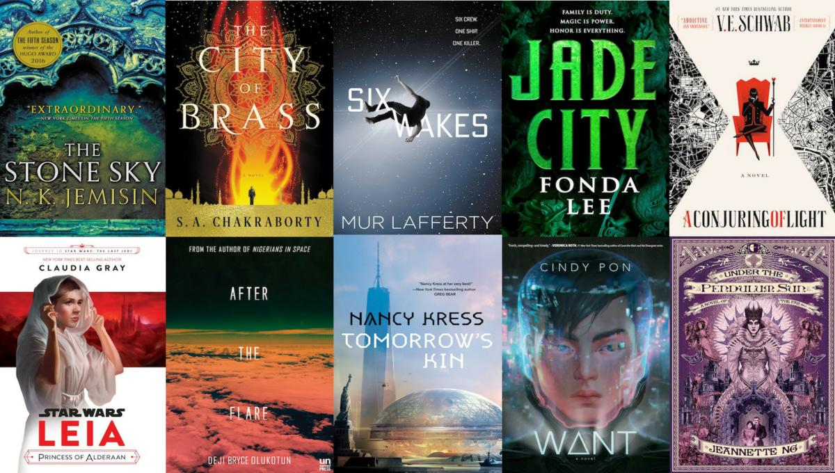 The 10 best sci-fi and fantasy books of 2017