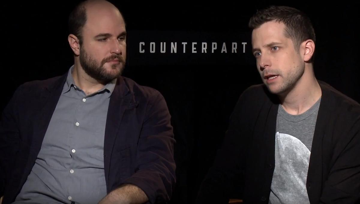 counterpart-justinmarks-jordanhorowitz-interview-syfywire-screengrab.png