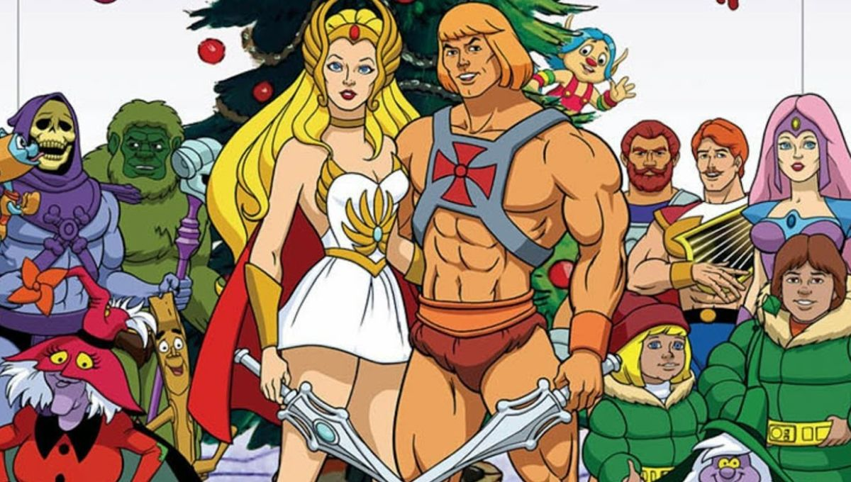 He Man Christmas.Deja View The He Man She Ra Christmas Special Syfy Wire