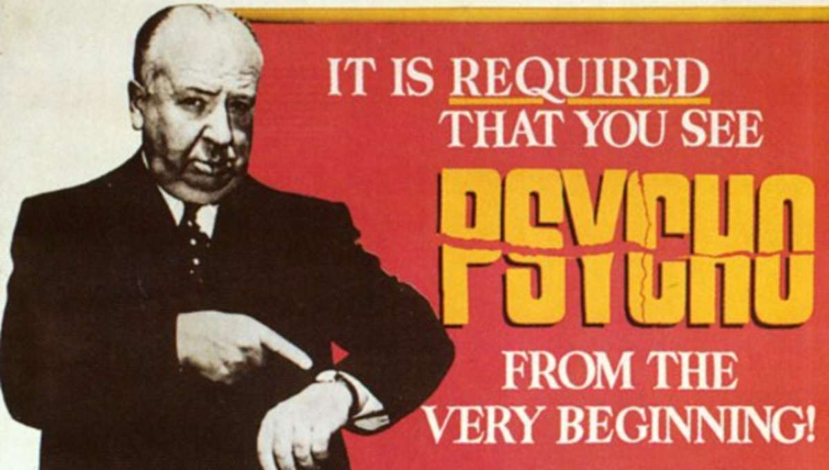 Firsts: Psycho - The first film to demand theatrical