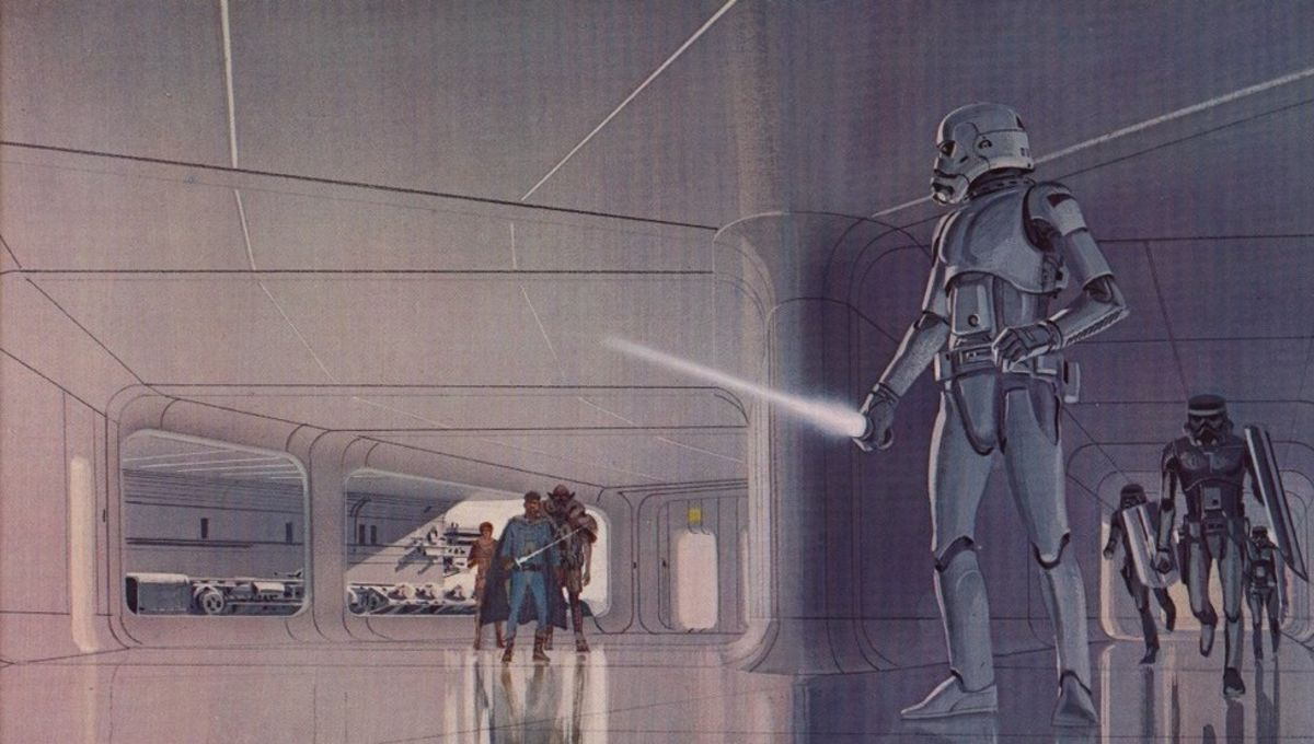 Ralph Mcquarries Star Wars Concept Art Comes To Life In New Fan