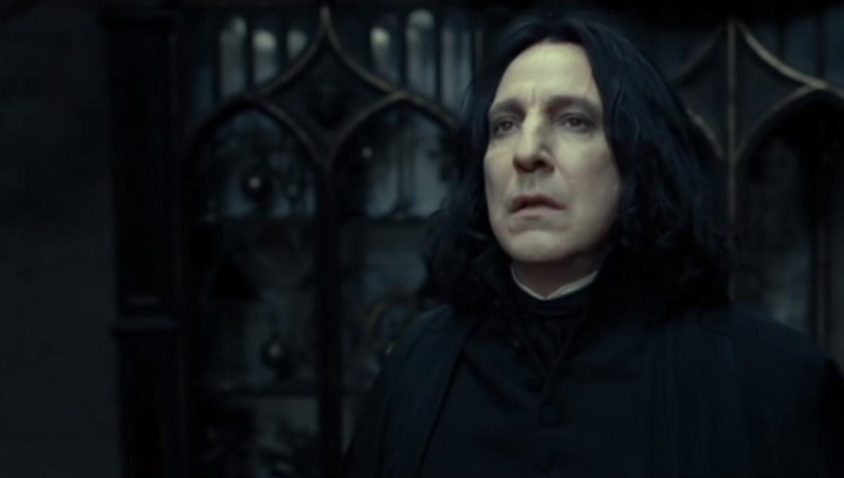 Alan Rickman's 16 best Snape moments in the Harry Potter films