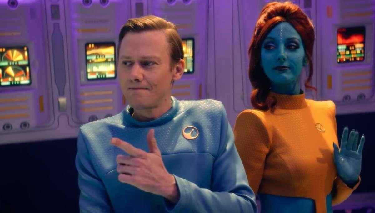 Black Mirror's USS Callister is a bigger homage to Star Trek than