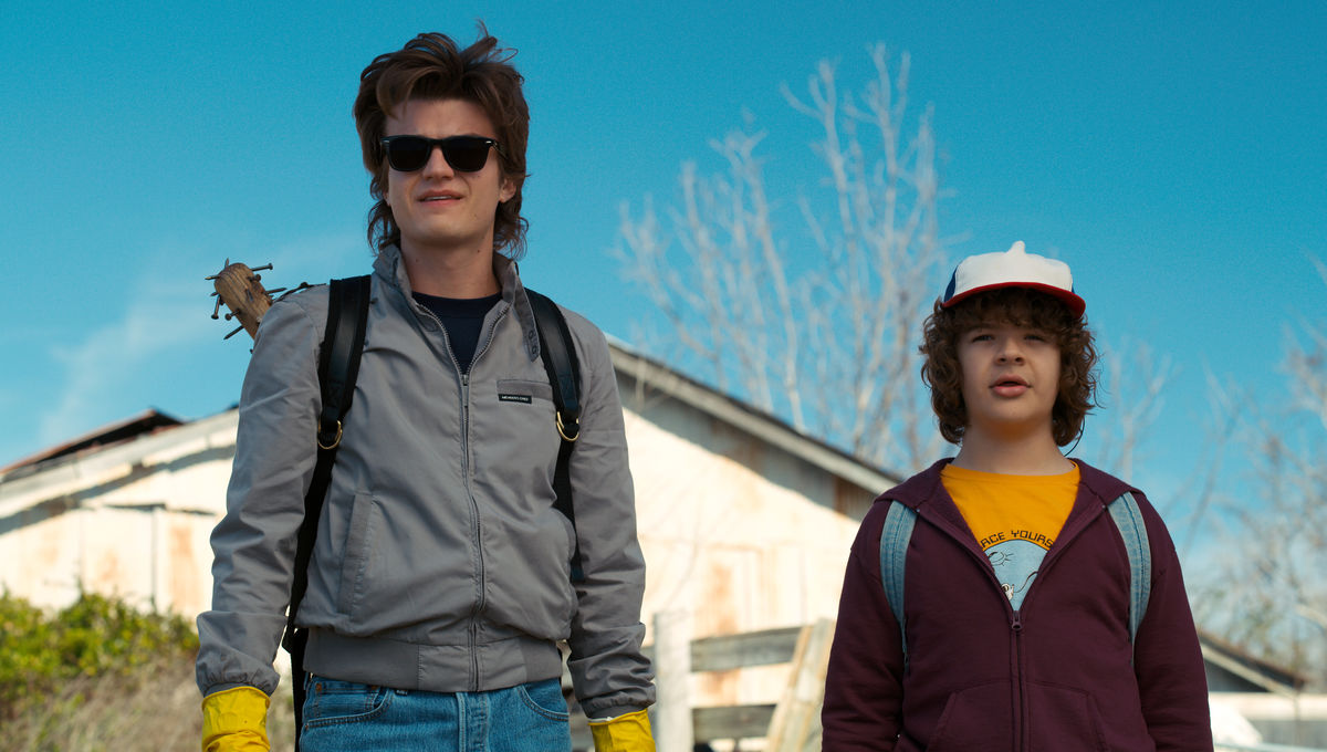 Joe Keery in Stranger Things