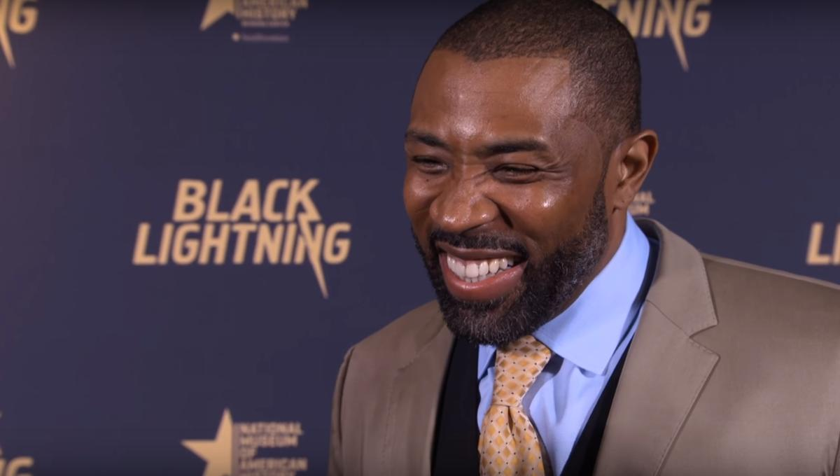 WATCH: Cress Williams' delightful imitation of the Super Friends announcer