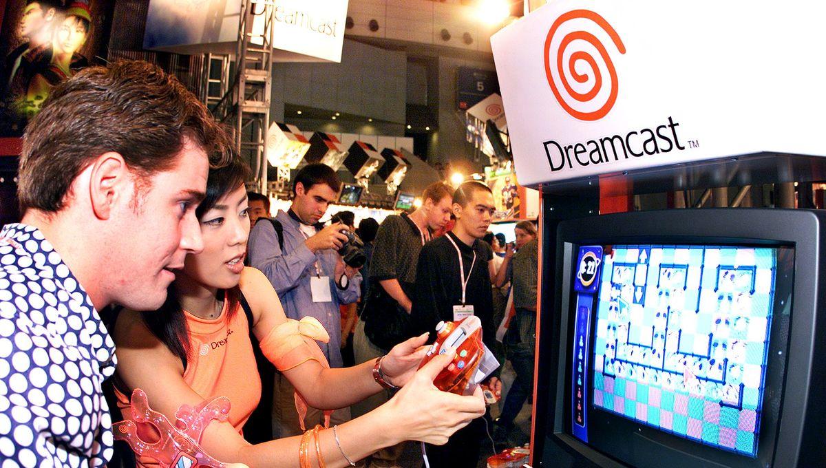 Vintage SEGA Genesis, Saturn and Dreamcast controllers