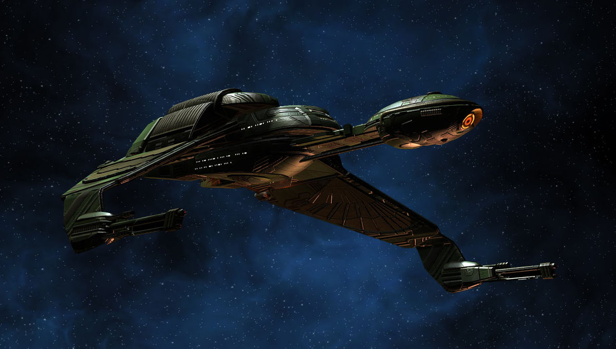 Surrender to the shock and awe of the killer Klingon Battlecruisers