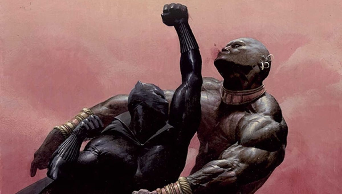Black Panther concept art shows off the cape T'Chaka ...