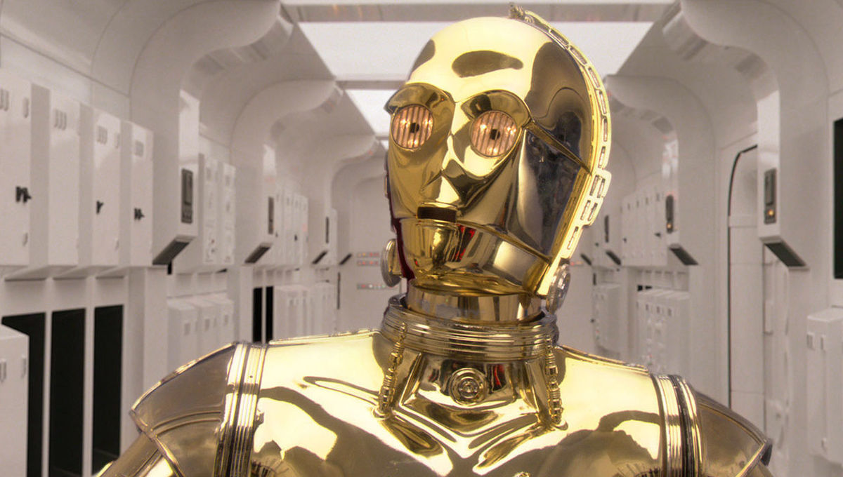 Chosen One of the Day: C-3P0, our whiny baby jerk angel