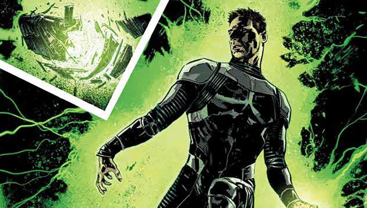 Exclusive: Here's an explosive sneak peek at Green Lantern: Earth One