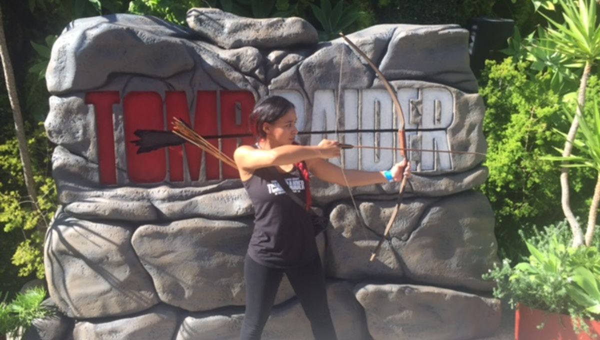 We spent a day at Croft Camp with Tomb Raider's trainer and    Oh