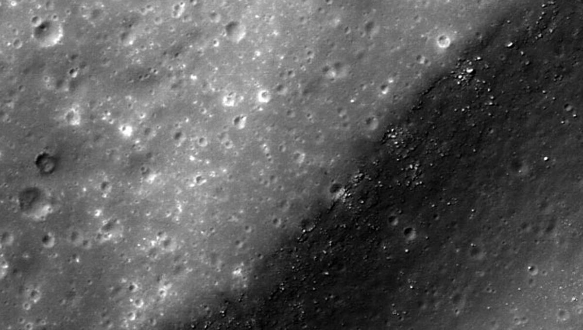 The moon used to spin out of control, and it was pretty hardcore