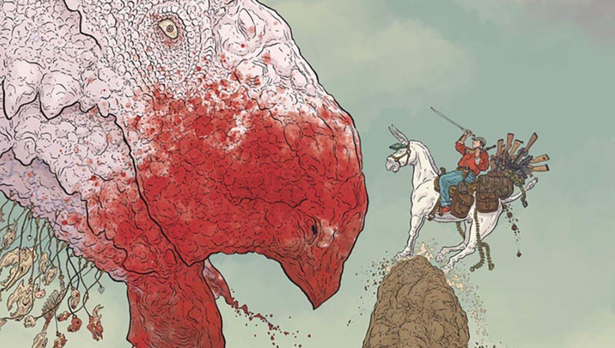 EXCLUSIVE: Dark Horse to re-release Geof Darrow's original Shaolin Cowboy series