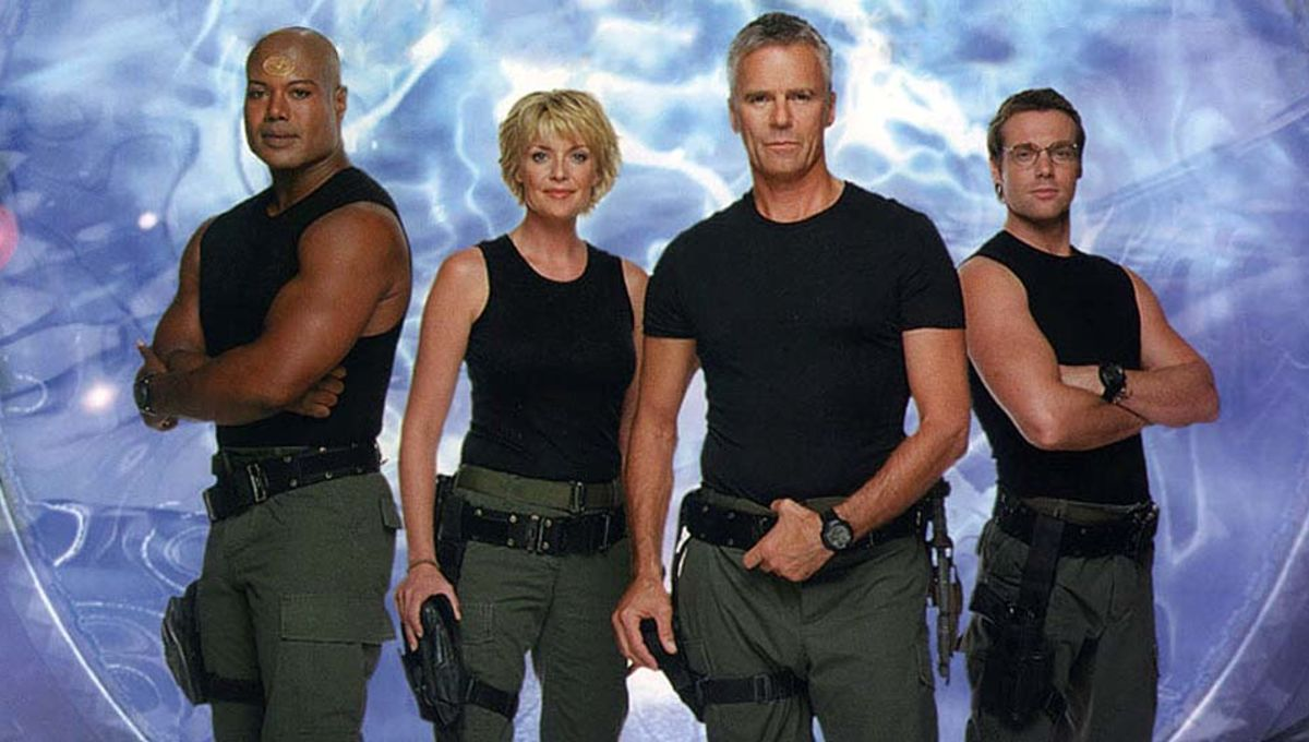 Image result for Stargate SG - 1 tv show