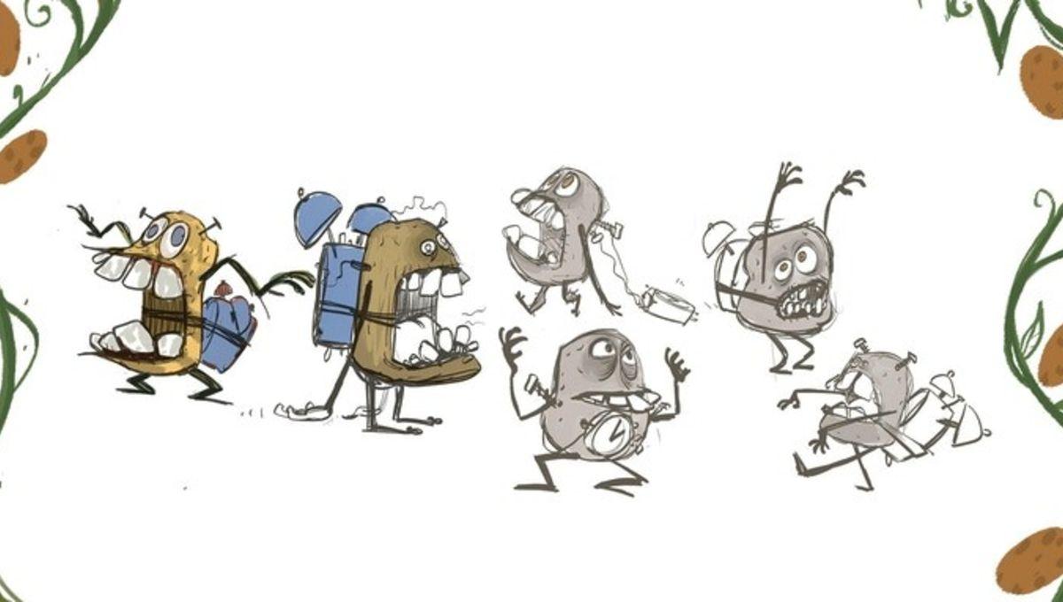 Cartoon critters flood runner 2