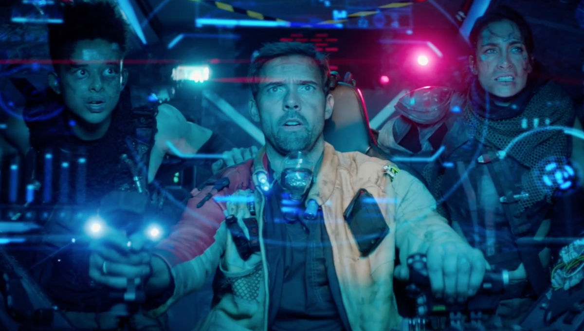 Futuristic sci-fi short 'The 716th' kicks off a high-flying