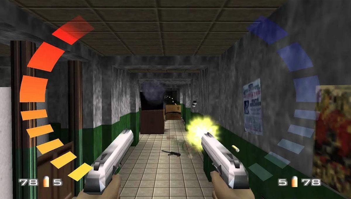 GoldenEye 007 video game hero