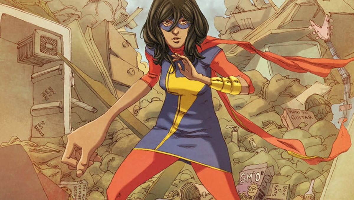 Kamala Khan is coming to Disney+ in a Ms. Marvel TV show