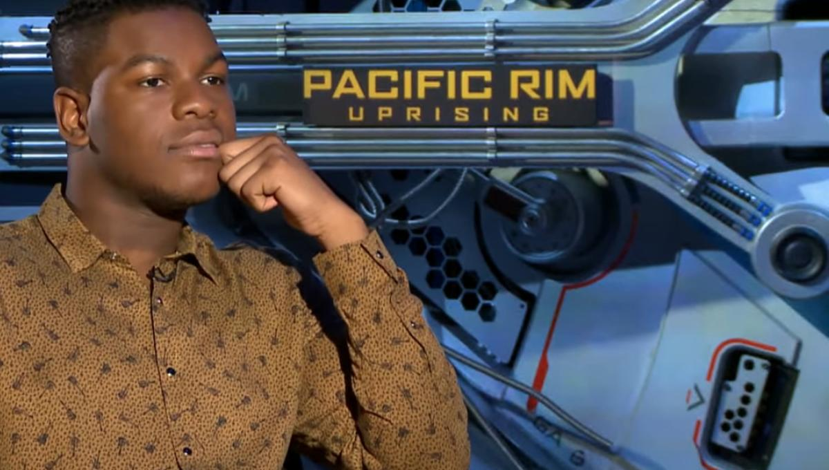 Watch Pacific Rim's John Boyega talk Monster Porgs and name his Jaeger