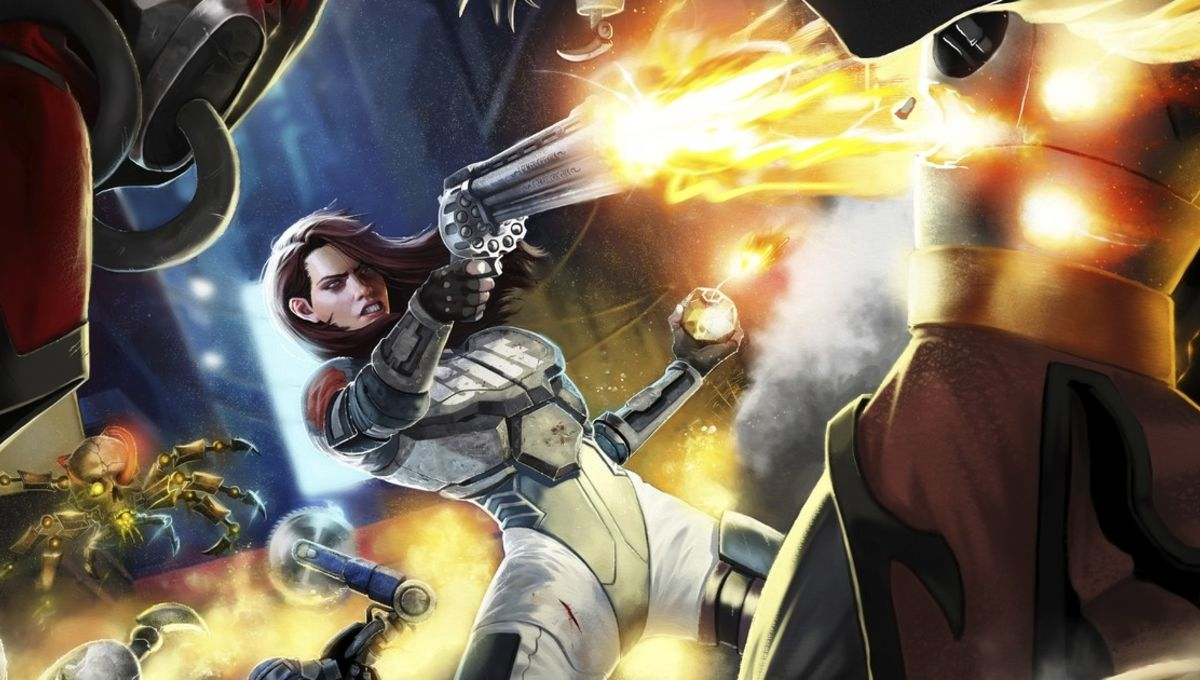 Ion Maiden is the female-fronted Duke Nukem you've been looking for