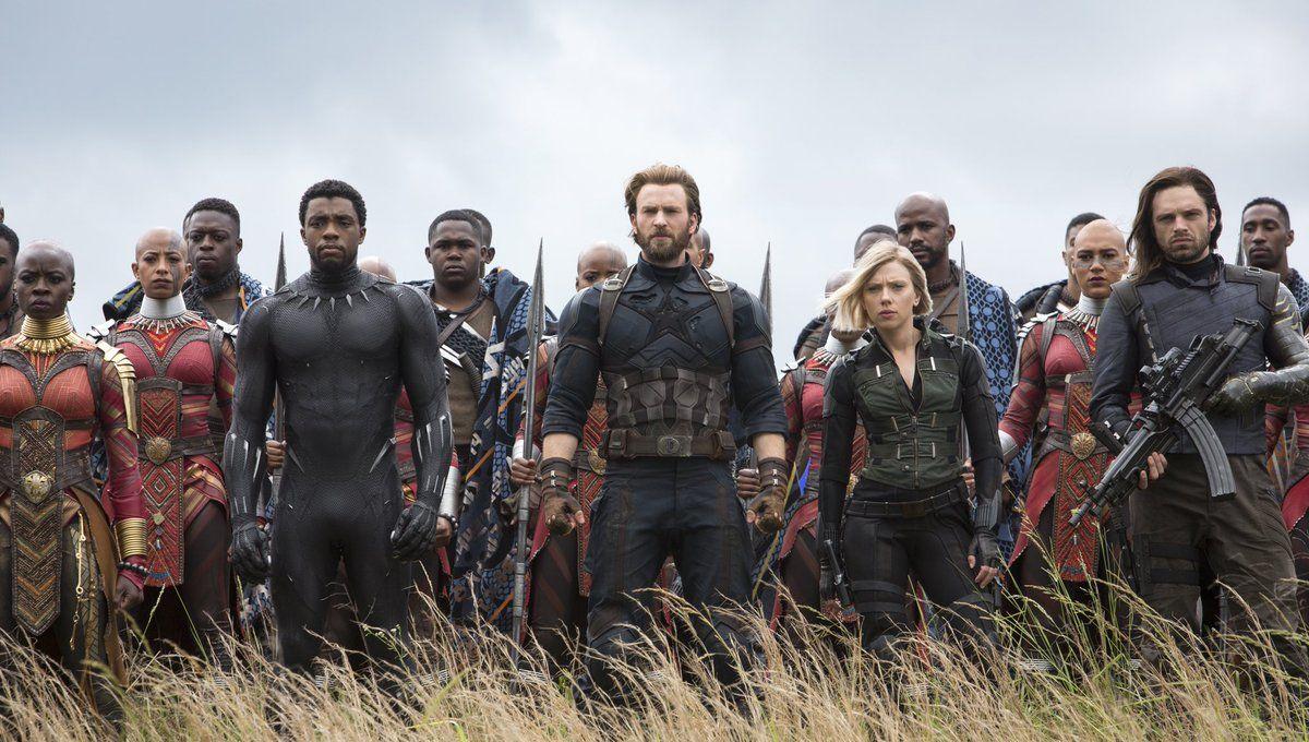 12bcfe4d Avengers: Infinity War - It's Black Widow vs. The Black Order in TV spot