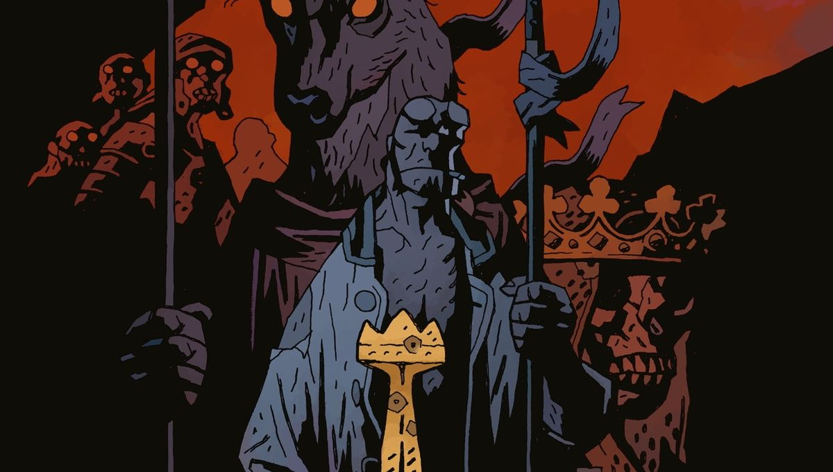 New Hellboy The Wild Hunt Collection Confirms Story Arc Of 2019