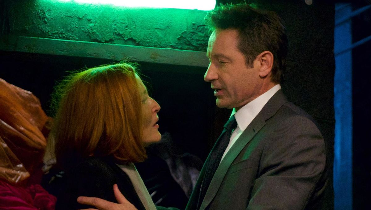 956ce043 Fox: The X-Files won't carry on without Scully, at least for now