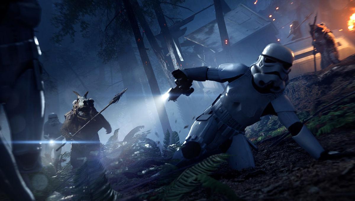 Star Wars Battlefront Iis Ewok Hunt Is The Survival Horror Mode We
