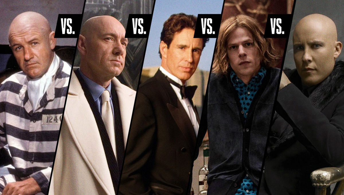 Debating the Top 5 Lex Luthor actors in Superman movies and