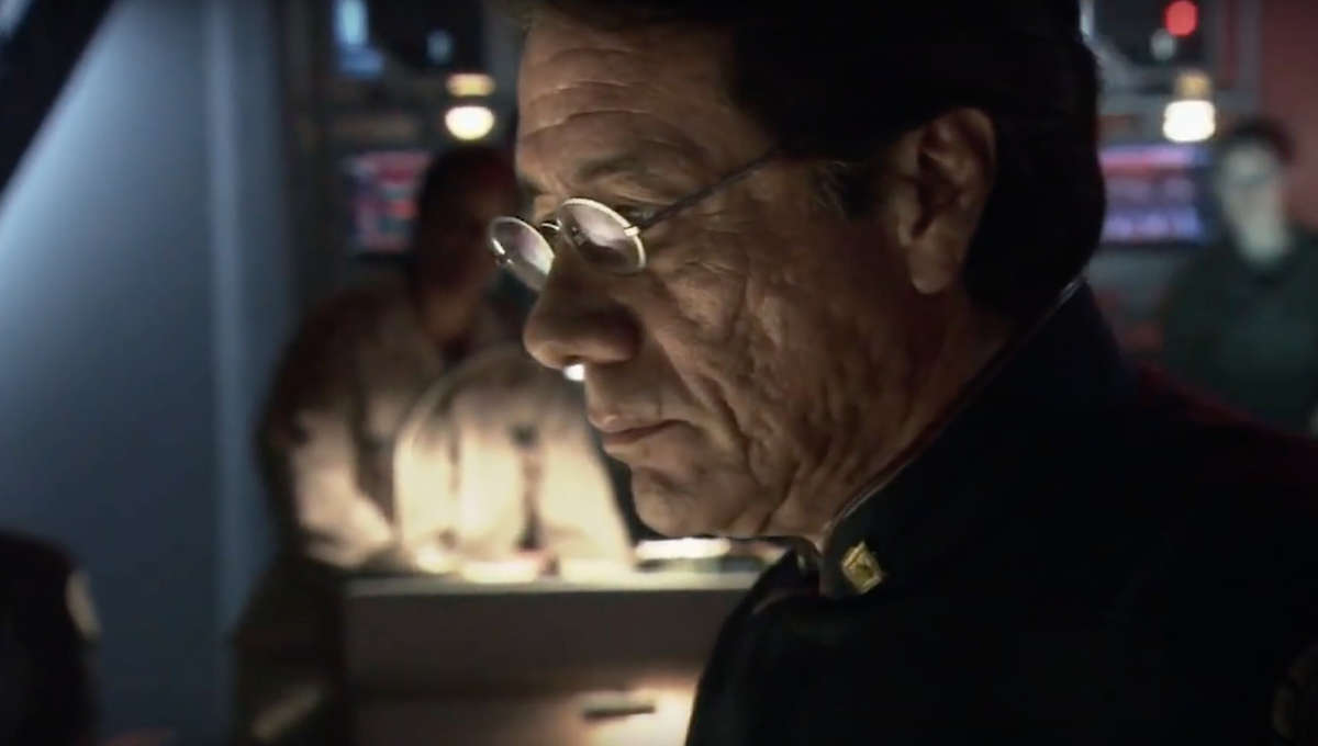 Battlestar Galacitca (Reboot)- Commander Adama (Edward James Olmos)